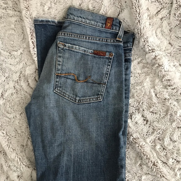 7 For All Mankind Denim - Women's designer Seven jeans size 26 bootcut